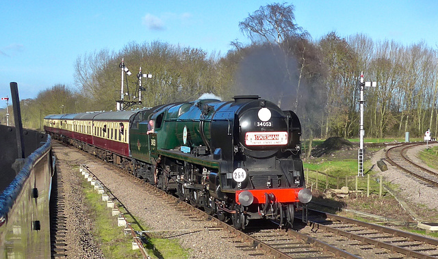Great Central Railway Swithland Leicestershire 30th January 2016