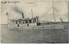 MN1138 LAKE WINNIPEGOSIS - S.S. MANITOU
