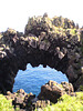 Natural arch.