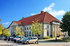 Mestlin, Kulturhaus (Westseite)