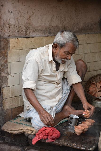 The tea maker....(no editing)