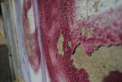 Sagres, Peeling paint
