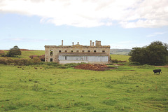 Ruins of Strichen House, Aberdeenshire, Scotland