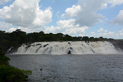 Venezuela, Puerto Ordaz, La Llovizna Waterfall