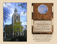 St Mary's Rotherhithe the Carr Gomm connection