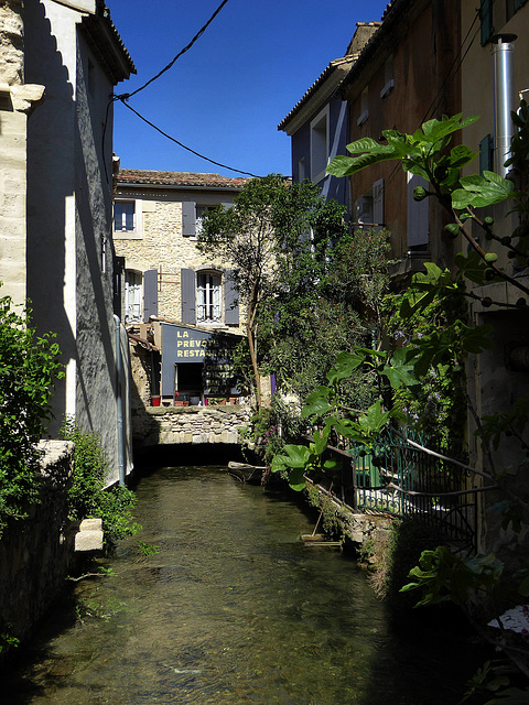 Isle Sur La Sorgue - canale de l'Arquet
