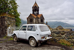 Fence, adorned with Lada