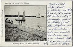 WB0086 WPG BEACH - WINNIPEG BEACH ON LAKE WINNIPEG