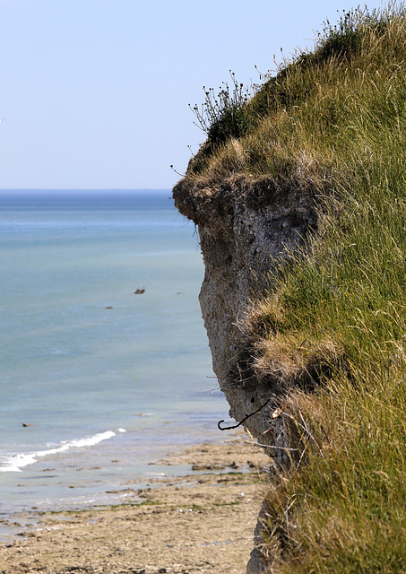 La falaise nous surveille....!