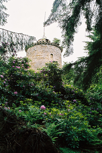 Folly Tower, Penicuik House, Lothian, Scotland