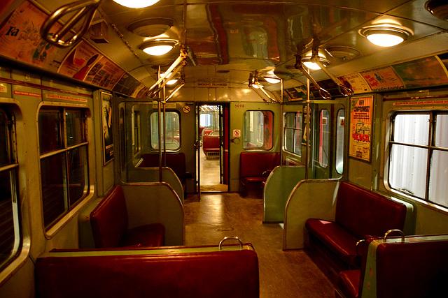 Canada 2016 – Halton County Radial Railway – Toronto subway interior