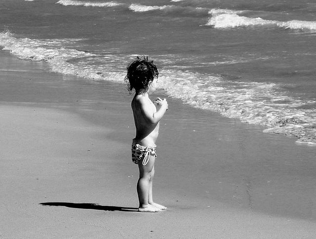 In riva al mare....
