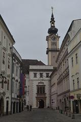 Linz-Landhaus and Minoritenkirche