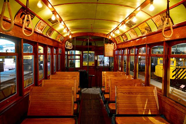 Canada 2016 – Halton County Radial Railway – Tram interior