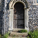Chancel Door, St Mary and St Peter, Kelsale cum Carlton, Suffolk