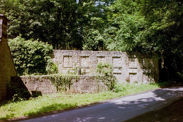 Remains of old Cotton Mill, Tansley, Derbyshire