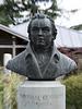 Bronze memorial to William Cobbett