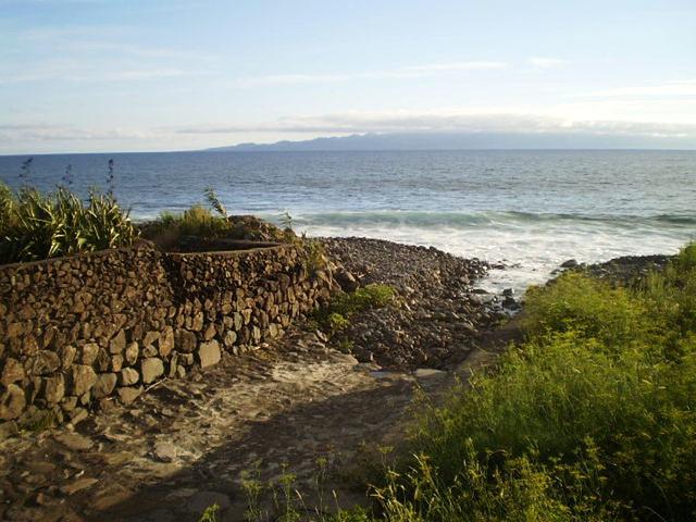 Beholding Pico Island.