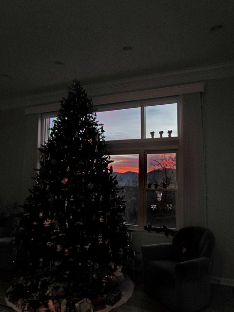 Sunrise at Christmas Time