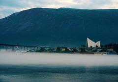 Tromso - Cattedrale Artica sopra la nebbia - (441)