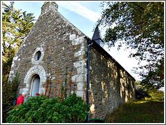 Chapelle du château de la Mallerie à Beaussais sur Mer (22)