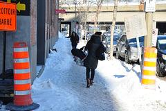 snow street montreal