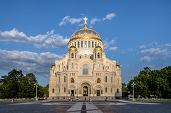 La Russie rouvre la cathédrale de Kronstadt