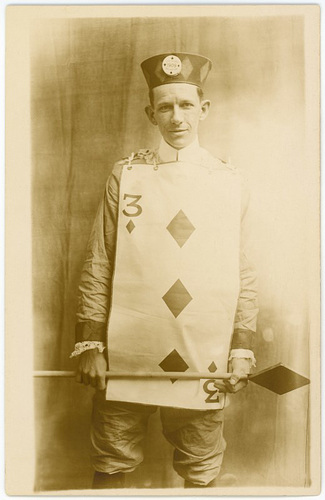 Mr. Three of Diamonds, 1909