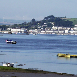 Looking down river towards Instow