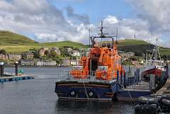 Cambeltown Lifeboat.  RNLB ERNEST AND MARY SHAW + 2 PiPs