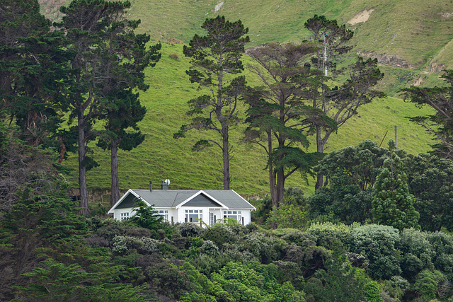 Neuseeland - Ferienhaus Gunyah in den Marlborough Sounds