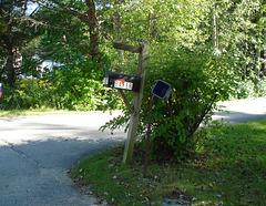 Baker's mailbox