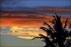 sunset - kailua