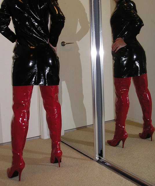 Double Jan in the mirror.....