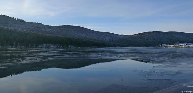 Schluchsee im Winter (© Buelipix)