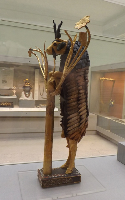 Ram in the Thicket in the British Museum, May 2014