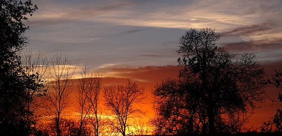Sunset 18-1-15 ~~ The Beginning ~~