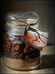 Lava in a jar