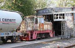 Cement works rail 2