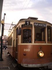 Tram 220 on duty on line 1.