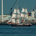 Tall ships leaving Liverpool12