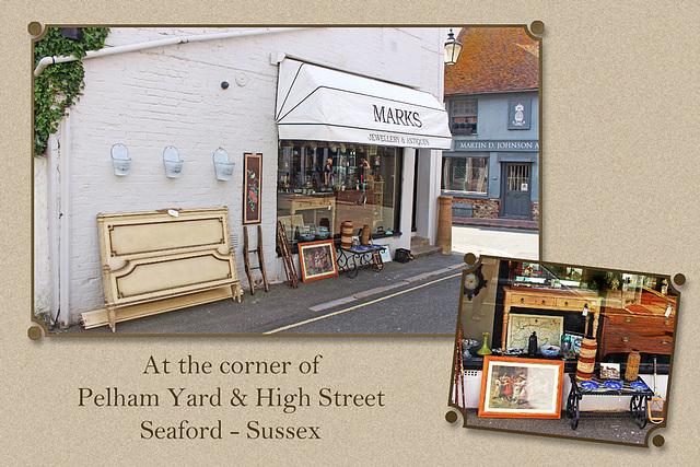 Pelham Yard & High Street - Seaford - Sussex - 18.6.2015
