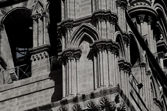 Säulen am Pallazzo Reale