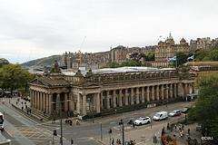 The Athens of the North! Edinburgh's National Gallery