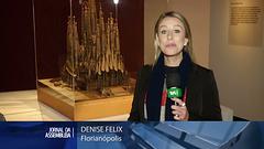 Jornal da Assembleia 2016-08-26 TV ALESC Santa Catarina recebe mostra do artista plástico Antoni Gaudí