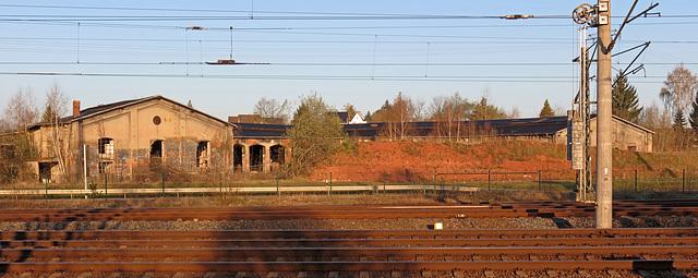 (110/365) ehemaliges Bahnbetriebswerk Werdau