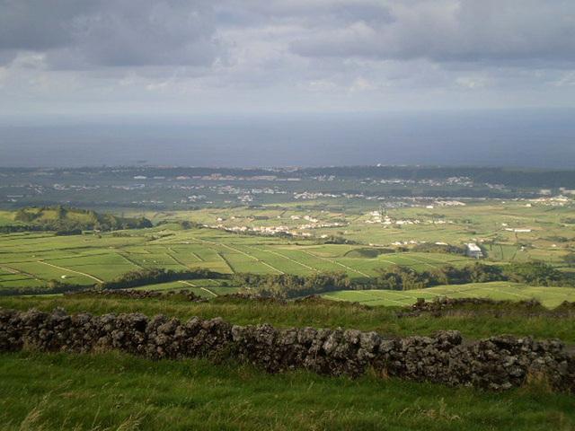 A view to Lajes da Terceira.