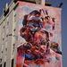Mural by PichiAvo, 2 Spanish street-artists.