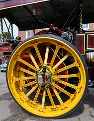 Charles Burrell traction engine
