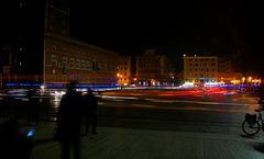Spät abends an der Piazza Venezia